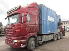 Used Scania R560 8x4