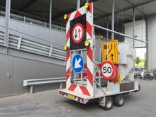 Aktiewagen met bebording Tandem