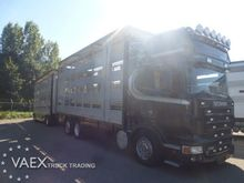 2010 Scania R620 4 stock + trai
