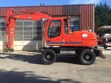 Liebherr A314 Wheeled Excavator