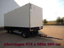 2001 Van Weel VW28000 3 As Gesl
