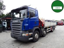 Scania R420 8x2 PALFINGER 1 Tru