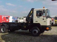 MAN 18.192 4x4 Truck Crane