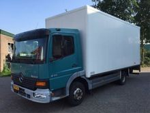 2000 Mercedes Benz ATEGO 815 Bo