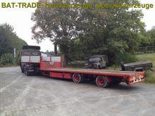 HFR Semi Tieflader Low loader