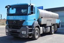 Mercedes Benz AXOR 2543 6X2 MIL