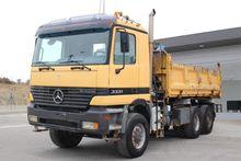 mercedes benz sk 2628 as 6x6 v8 mo truck crane in bielefeld germany. Black Bedroom Furniture Sets. Home Design Ideas