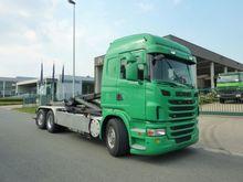 Scania G 380 Container transpor