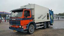 Scania P93M mullwagen Garbage t