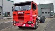1983 Scania 142H 6X2 Chassis ca
