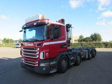 Scania G400 Truck Crane