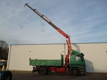 Mercedes Benz 1831 tipper with