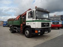 MAN 18272 Truck Crane