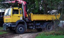 Renault G300 Truck Crane