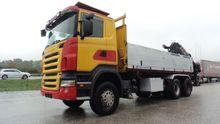 Scania R420CB6X4HHZ + Hiab Truc