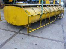 RVS opslagtank + 1x druktank Ro