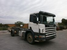 Scania 114G 340 Chassis cabin