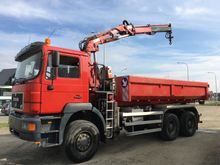 1996 MAN 33.343 6X6 Container s