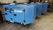 SDMO 12.5 kva Noise reduced