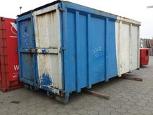 Dichte afval contain Containers