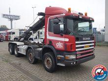 2002 Scania P124 420 8x4 Full s