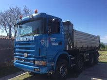 2003 Scania R420 3 seit kipper