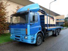 1995 DAF 75 6x2, Hyab 14 ton/me
