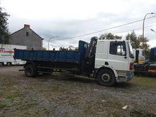 DAF CF 75 300 ATI Truck Crane