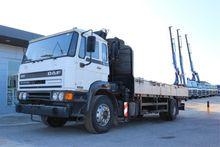 1993 DAF 1900 Truck Crane
