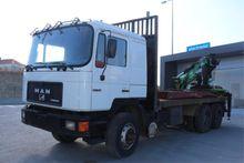 1991 MAN 25.502 - V10 Timber ve