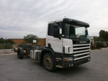 2004 Scania 114G 340 Chassis ca