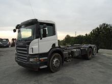 2008 Scania P340 Chassis cabin