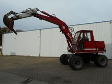 O & K MH4 Backhoe Loader