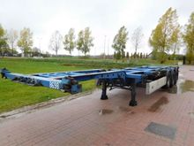 2006 Krone Chassis Container tr