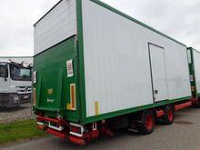 2006 Krone ZZF 18 ton Closed bo
