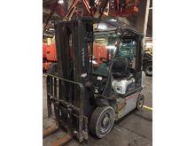 2010 Nissan Y1D2A25Q Forklift