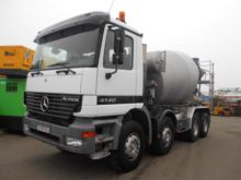 2001 Mercedes Benz Actros Mixer