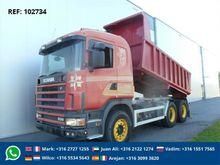 1997 Scania R144.530 6X4 DUMPER