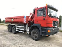 1996 MAN 33.343 6X6 Container t