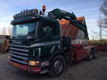 1998 Scania 124G Container syst