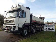 2012 Volvo FMX500 8x4 med wireh