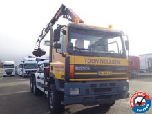 2001 DAF CF 85.340 6x4 with PK1