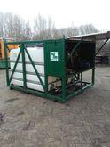 pomp installatie Containers