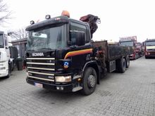2001 Scania P94 6X2 KRAN HMF 15