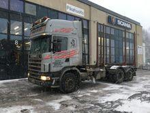 2004 Scania R164 6X4 V8 Timber