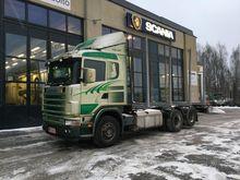 2003 Scania R164 6X2 V8 Timber