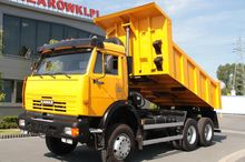 2011 BACKSIDE TIPPER 6×6 KAMAZ