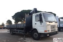 1990 Volvo FL 10 Lorry with cra