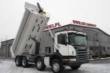 2009 Scania BACKSIDE TIPPER 8×4