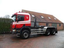 1999 Scania 114c 6x6 Container